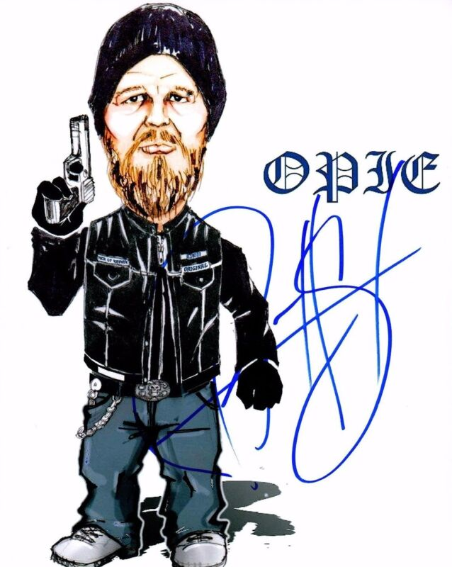 GFA SOA Sons of Anarchy-Opie * RYAN HURST * Signed 8x10 Photo EJ4 COA