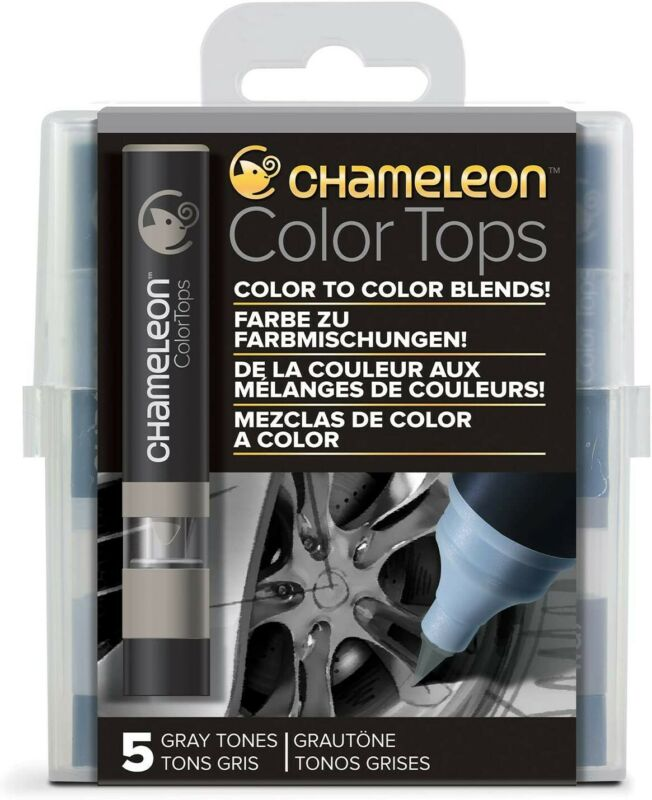 Chameleon Color Tops Gray Tones