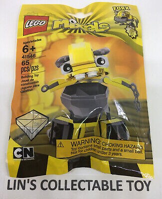 LEGO Mixels Series 6 FORX  41546 (65 Pieces) NEW SEALED Free Shipping.