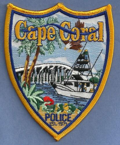 CAPE CORAL FLORIDA POLICE SHOULDER PATCH