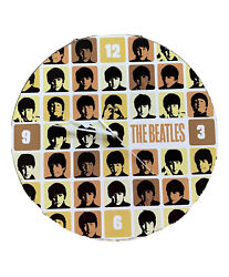 The Beatles Wall Clock. Rare Retro Mid Century Modern Style, Beatles Home Decor