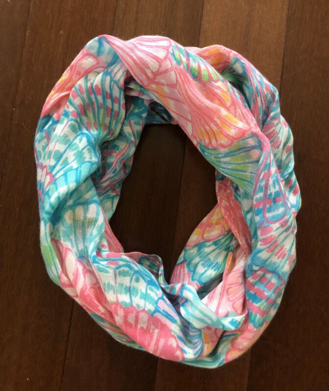 Lilly Pulitzer Girls Mini Riley Infinity Loop Scarf Oh Shello