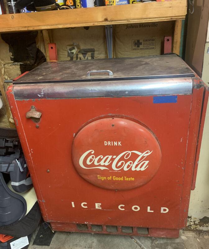 Vintage Coca Cola Refrigerator