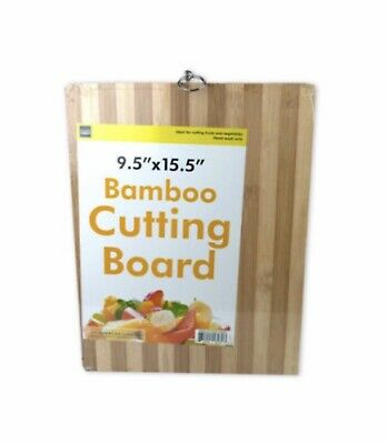 "Striped Bamboo Cutting Board 9.5"" x15.5"" Brand New And Sealed. Free Shipping. Bamboo Striped Cutting Board"