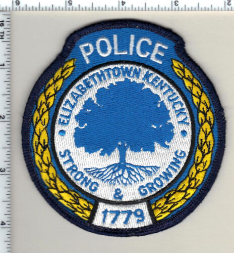 Elizabethtown Police (Kentucky) Shoulder Patch - new from 1990
