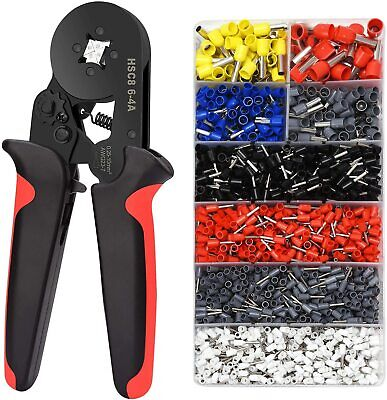 Ferrule Crimping Tools Wire Pliers - 1800 Pcs Wire Ferrules With Crimpers Pliers