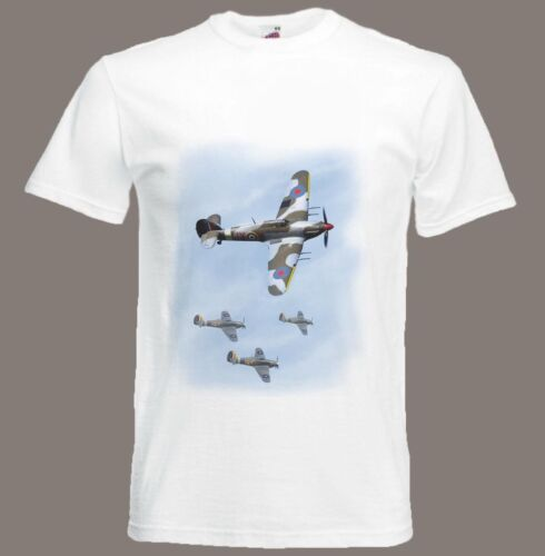 Hawker Hurricane t-shirt Fighter Aircraft WW2 size Small ...
