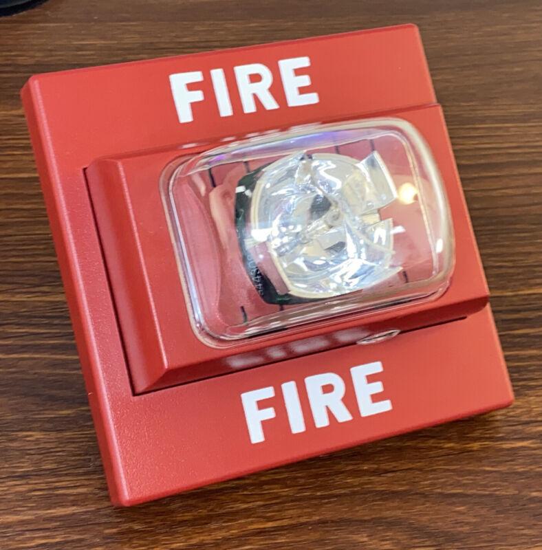 Siemens U-MCS Remote Strobe Fire Alarm (Red) P/N 500-699701