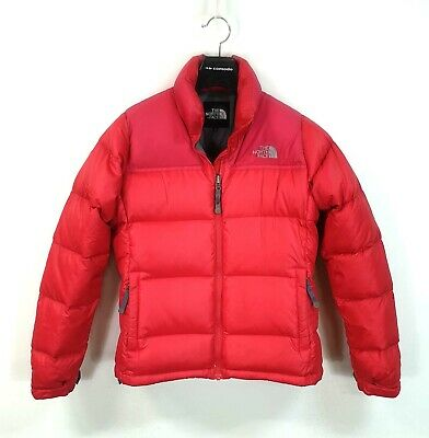 [THE NORTH FACE] WOMEN'S 100% AUTH 700 FILLS NUPTSE GOOSE DOWN PUFFER JK SIZE M