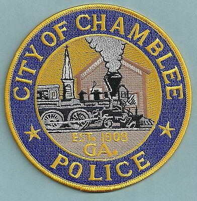 CHAMBLEE GEORGIA POLICE PATCH LOCOMOTIVE!
