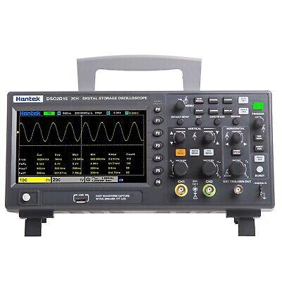 Hantek Oscilloscope Dso2c10 2d10 2 Channel Digital Storage 1gsas Generater