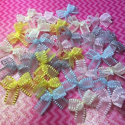 30 Fancy Chiffon Dog Bows Grooming Bows Yorkie Shih tzu  Poodle Handmade USA for sale  Shipping to Canada
