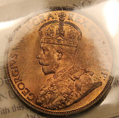 Click now to see the BUY IT NOW Price! 1913 CANADA LARGE CENT ICCS MS 65 RED GEM UNCIRCULATED TRENDS $1100