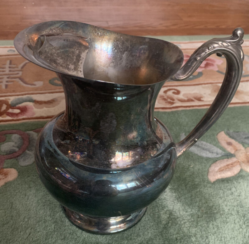 TIFFANY & CO England Silver plated Water Pitcher mono