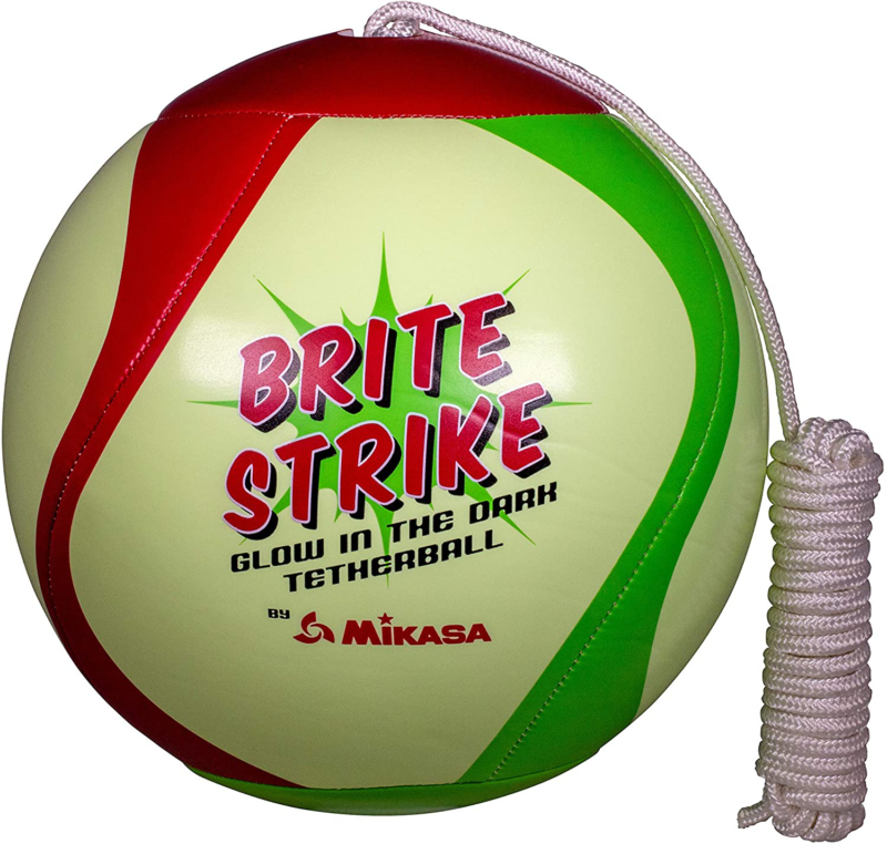 Mikasa Glow In The Dark Outdoor Tetherball, Multicolor