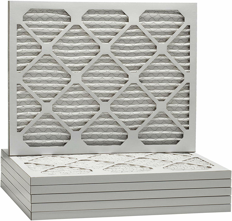 Case of 6 16x24x2 MERV 8 Pleated AC Furnace Filter