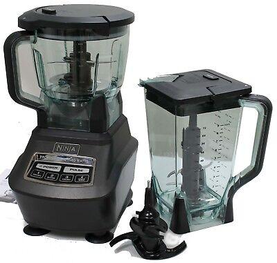 NEW Ninja BL770 Mega Kitchen System 1500W Power Blender Processor w/ Nutri Cups for sale  Lincoln