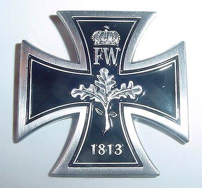 Pin Eisernes Kreuz EK Eichenlaub 1813 Metall Neu  28