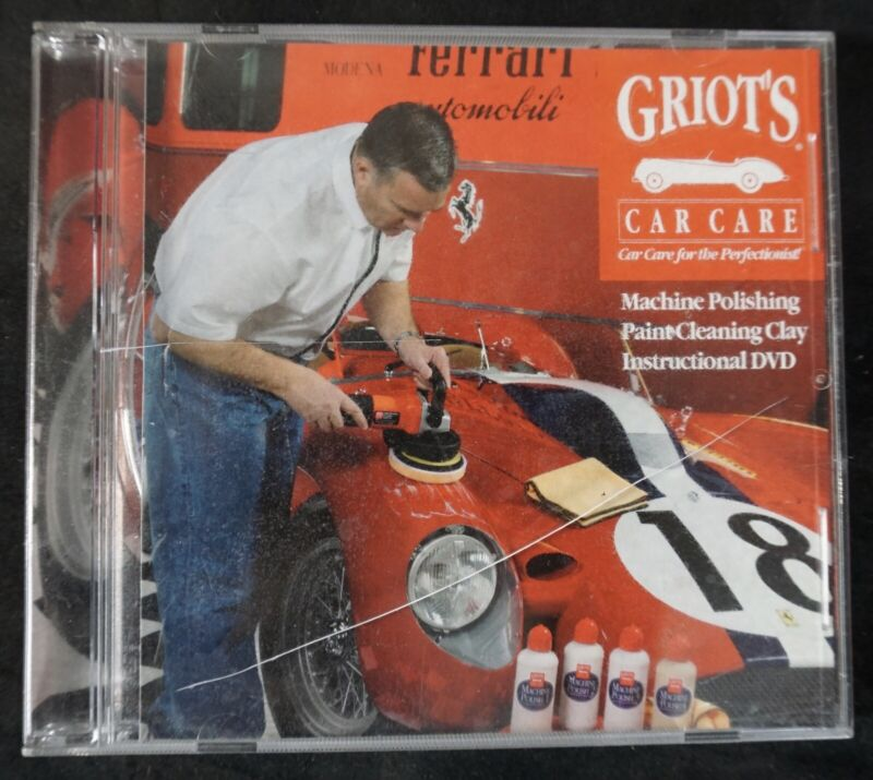 GRIOT'S CAR CARE Machine Polishing paint cleaning clay ins