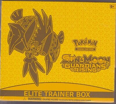 POKEMON TCG GUARDIANS RISING SUN & MOON ELITE TRAINER BOX BRAND NEW SEALED