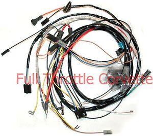 1973 corvette engine wiring harness manual small block