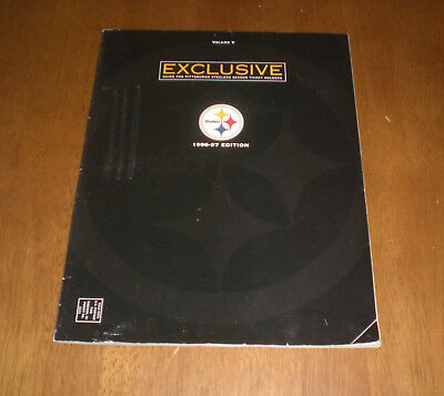 1996-97 PITTSBURGH STEELERS GUIDE FOR SEASON TICKET HOLDERS