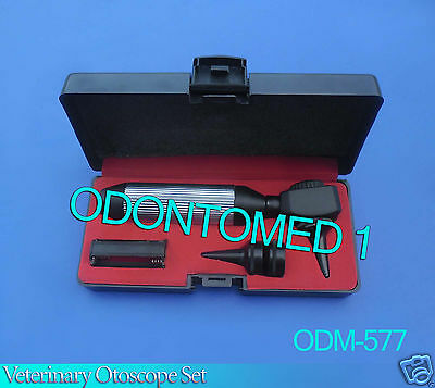 Veterinary Otoscope Set Diagnostic Instruments-odm-577