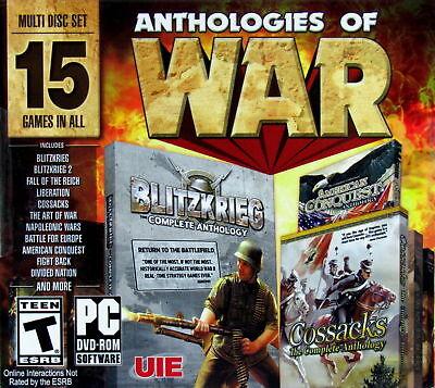 Computer Games - Anthologies Of War PC Games Window 10 8 7 XP Computer Games blitzkrieg 2 cossack