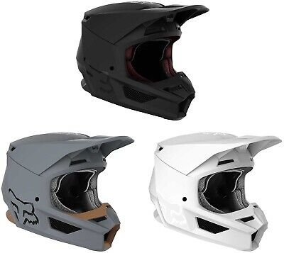 2020 Fox Racing V1 Matte Helmet - Motocross Dirtbike Offroad Adult
