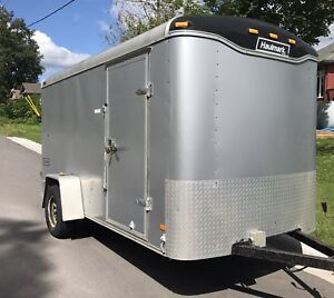 6ft x 12ft Enclosed Trailer For Rent