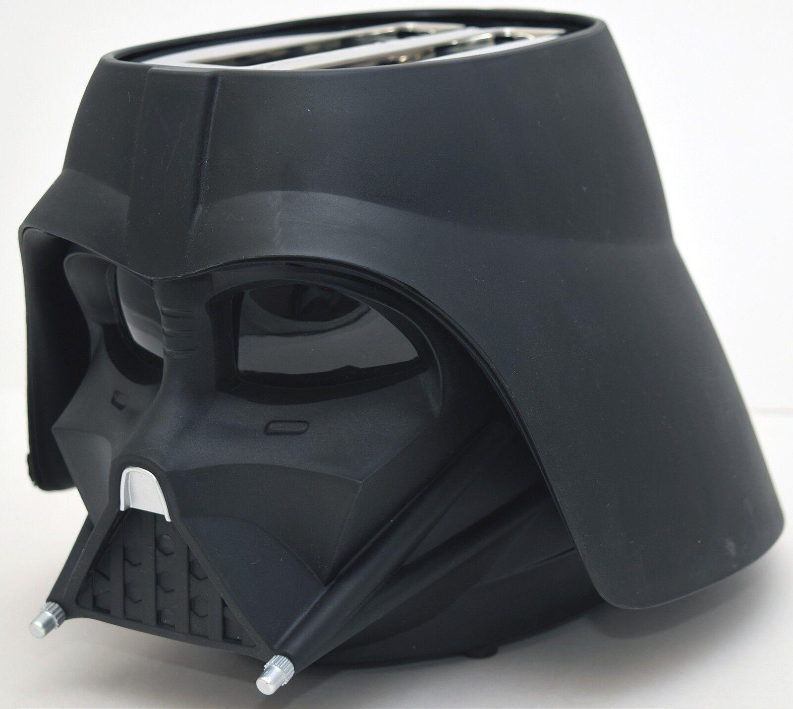 Official Star Wars Darth Vader Toaster Disney Helmet Kitchen 2 Slice