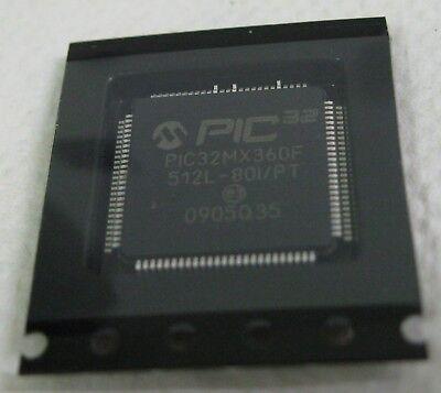 Pic Pic32mx360f512l-80ipt-nd Microchip