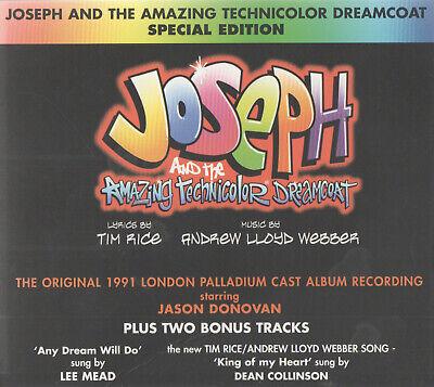 JOSEPH AND THE AMAZING TECHNICOLOR DREAMCOAT - JASON DONOVAN / LEE MEAD - (Jason Donovan Joseph And The Amazing Technicolor Dreamcoat)