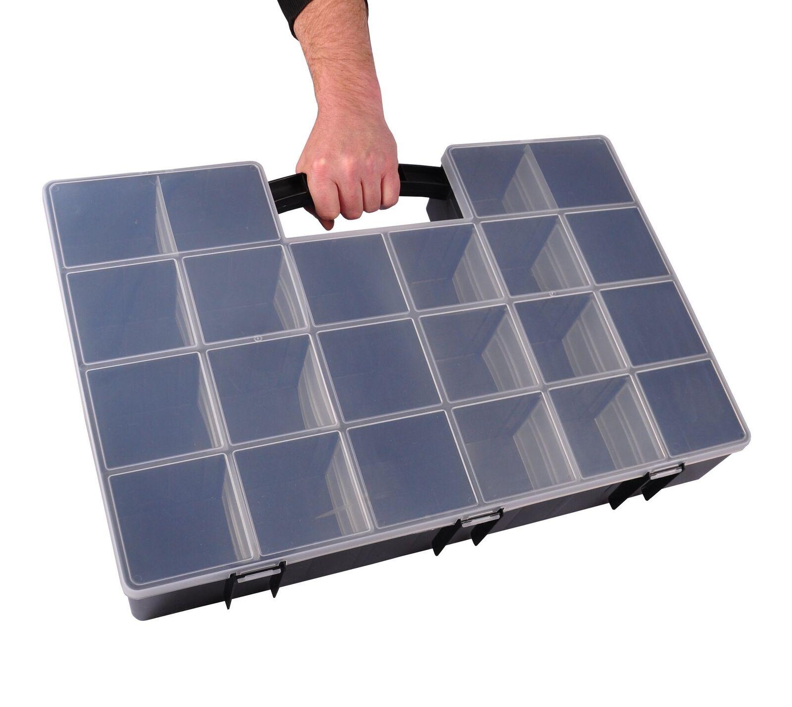 Sortimentskasten Organizer Sortierkasten Schraubenbox Kleinteilebox Tandem Serie