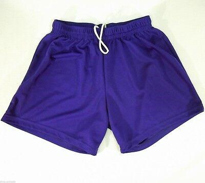 AUGUSTA SPORTSWEAR Ladies Purple Mesh Active Shorts size M - Augusta Sportswear Mesh Shorts