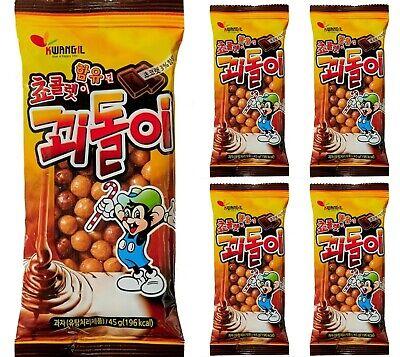 Korean Retro Childhood Old Memories Snack KKOEDOLI 45g 5pack