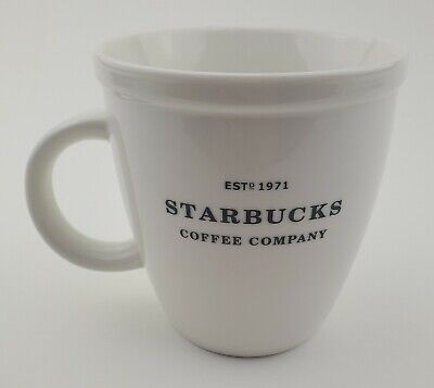 2006 Starbucks Coffee Company Mug Barista Collection Est 1971 White Abby 16-oz