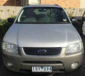 FORD TERRITORY 2005 Mount Clear Ballarat City Preview