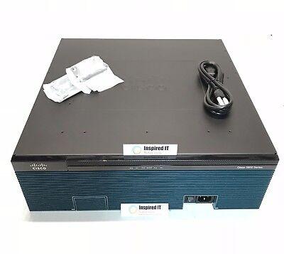 C3925E-VSEC/K9 - Cisco 3925E UC Sec. Bundle, PVDM3-64, UC&SEC Lic, FL- CUBE25