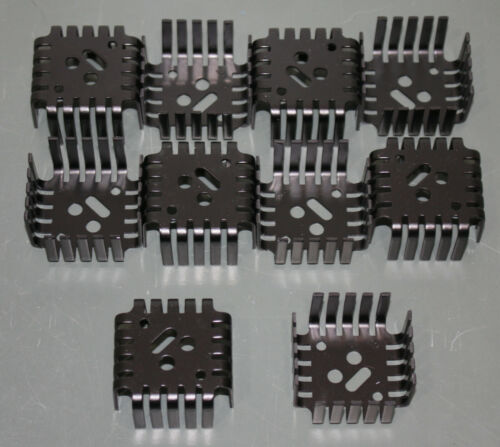 (10) Aavid Thermalloy TO-3 Heat Sink 552507B00000G Transistor Thermal Management
