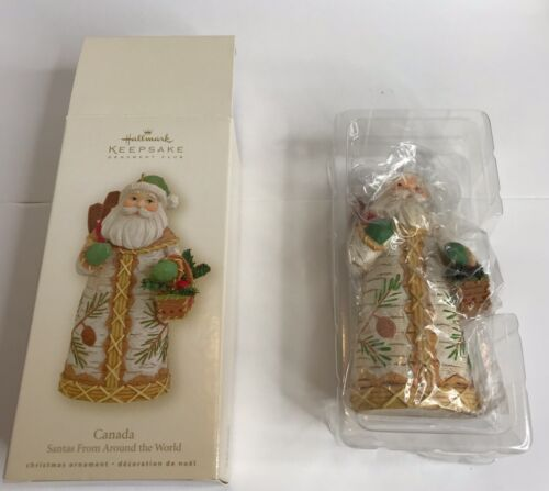 Hallmark Keepsake Ornament Santas from Around the World - Canada