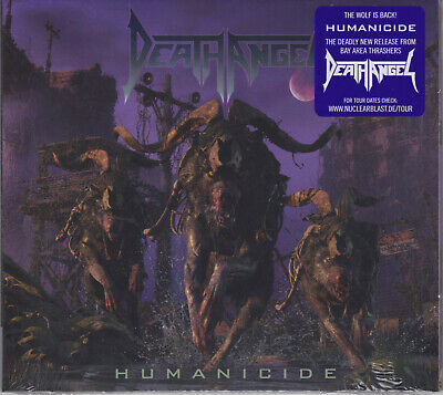 Death Angel 2019 CD - Humanicide +1 (Ltd.Digi.) Testament/Exodus/Megadeth Sealed