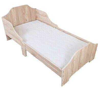 Kiddi Style Childrens Kids Wooden Junior Toddler Cot Bed Bedroom Furniture - NEW