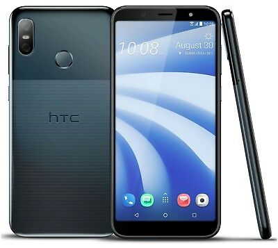 "HTC U12 Life Dual 64GB (FACTORY UNLOCKED) 6.0"" 4GB RAM Blue, Twilight"