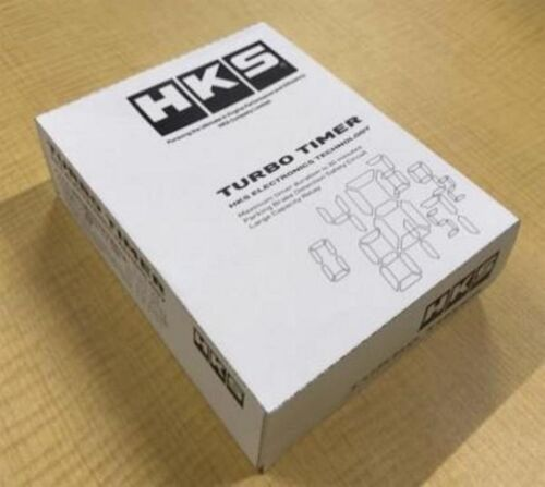 All New Hks (41001-ak012) Turbo Timer 10th Generation,genuine Parts,japan Made