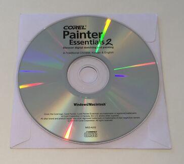 Corel Painter Essentials 2 Install DVD (Mac and Windows)