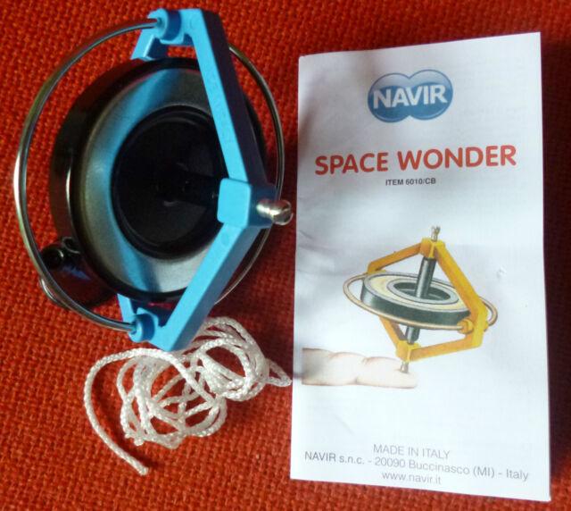 NAVIR SPACE WONDER GYROSCOPE. DEFIES GRAVITY!