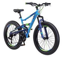 "24"" Mongoose Masher Mountain Bike - Blue / Green R7300TR"
