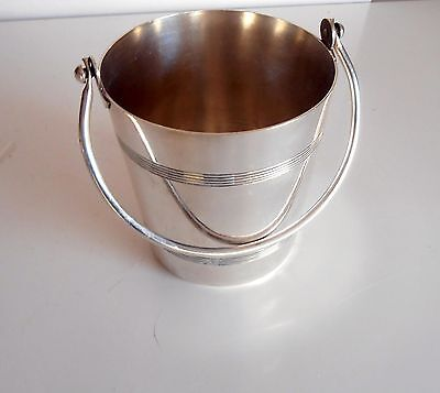 French Antique Silverplated Ice Bucket – Barware Wine Accessories