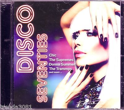 DISCO SEVENTIES CD Classic 70s SUPREMES DONNA SUMMER DOLLAR TRAMMPS Rare - Disco Seventies